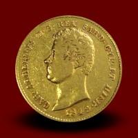 6,45 g zlatnik Albert 20 LIR, 1849