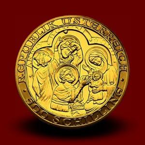 10,14 g, Kristusovo rojstvo (2000), serija 2000 let krščanstva