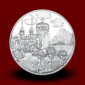 17,30 g, Oberösterreich (2016), Austria Piece by piece Series - PROOF