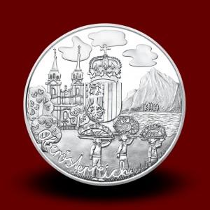 17,30 g, Zgornja Avstrija (2016), serija Avstrijske zvezne dežele - PROOF
