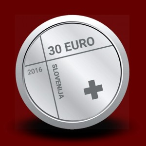 15 g, 150th anniversary of the Red Cross in Slovenia (2016)