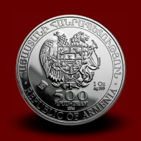 31,1035 g, Srebrni kovanec Noetova barka