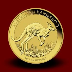 31,162 g, Zlati Avstralski kenguru 2017