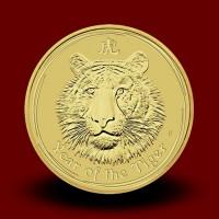 15,594 g, Zlati Lunin koledar - tiger (2010)