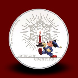31,135 g, Silver Disney - Season's Greetings Classic