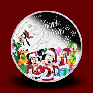 15,55 g, Silver Disney - Season's Greetings