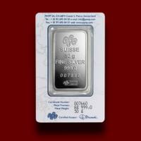50 g, Silver Bar Fortuna