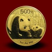 31,134 g, Zlati Kitajski panda (2011)
