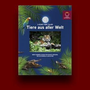 Zbirateljski album za zbirko Živali v barvah