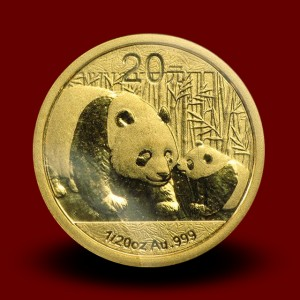 1,5556 g, Zlati Kitajski panda (2011)