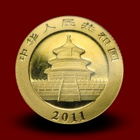 1,5556 g, China Panda Gold Coin (2011)