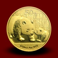 3,113 g, China Panda Gold Coin (1986)