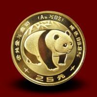 7,7783 g, Zlati Kitajski panda (1983)