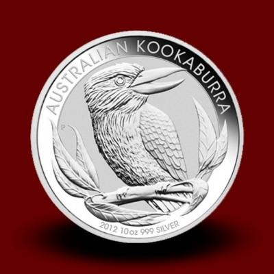311,347 g, Srebrni Avstralski kukabura / Australian Kookaburra Silver Coin
