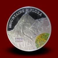 Gore sveta in njihova flora: zbirka 59 srebrnikov **