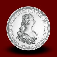 22,42 g, Empress Maria Theresa, Courage and Determination, 2017