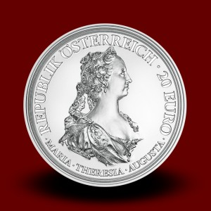 20 g Courage and Determination Silver Coin 2017, Empress Maria Theresa Series