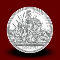 20 g Srebrnik Pogum in odločnost 2017, serija cesarica Marija Terezija