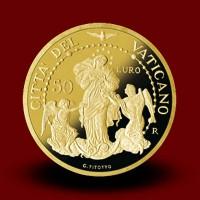 Zbirka evrokovancev z zlatnikom (2017)