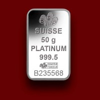50 g, Platinum Bar Fortuna