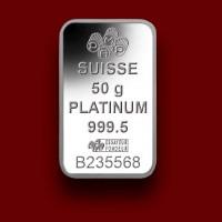 50 g, Poluga iz platine Fortuna