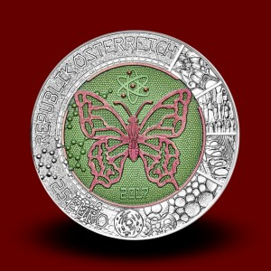 16,5 g (Ag/Nb), Microcosm (2017), Niobium coin