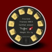 10 x 1 g, Zlatna poluga - Goldseed