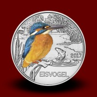 16 g (Cu/Ni), Colourful Creatures - The Kingfisher