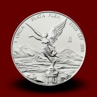 31,1035 g, Srebrni Mehiški libertad / Mexican Libertad Silver Coin**