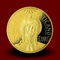 3 g, zlatnik Pontifikat pape Franje - Krštenje