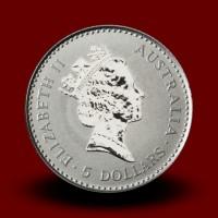 1,571 g, Platinasta Avstralska koala / Australian Koala Platinum Coin - 1990,1992,1996