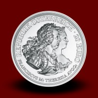 22,42 g, Empress Maria Theresa, Justice and Character, 2017