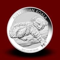 31,1035 g, Srebrna Avstralska koala