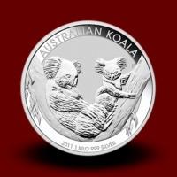 1000 g, Srebrna Avstralska koala / Australian Koala Silver Coin