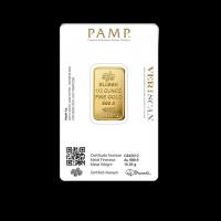 15,5517 g, Zlata palica, kovnica PAMP