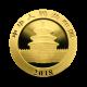 1 g, China Panda Gold Coin - 2018