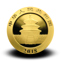 1 g, Zlati Kitajski panda 2018