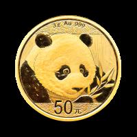 3 g, Zlati Kitajski panda 2018