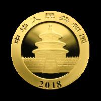 8 g, Zlati Kitajski panda 2018