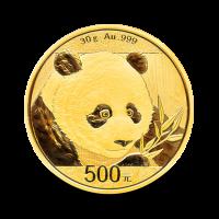 30 g, Zlati Kitajski panda 2018
