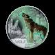 16 g (Cu/Ni), Volk - 3 € zbirateljski kovanec (2017), serija Živali v barvah