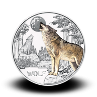 16 g (Cu/Ni), Colourful Creatures - The Wolf