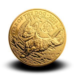 31,21 g, Year of the Sheep Gold Coin 2018