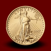 3,393 g, Zlati Ameriški orel / American Eagle Gold Coin