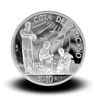 22 g, srebrnjak Pontifikat pape Benedikta XVI - Međunarodni dan mira