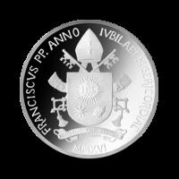22 g, srebrnjak Pontifikat pape Franje - Međunarodni dan mladih