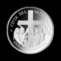 22 g, srebrnik Pontifikat papeža Frančiška - Svetovni dan mladih, 2016