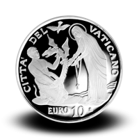 22 g, srebrnik Pontifikat papeža Frančiška - Svetovni dan bolnih