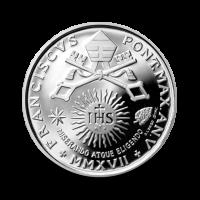 22 g, srebrnik Pontifikat papeža Frančiška - Svetovni dan bolnih, 2017