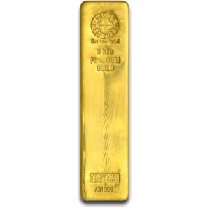 5000 g, Gold bar